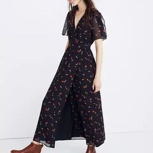 Madewell Tulip Sleeve Maxi Dress in Sweet Blossom